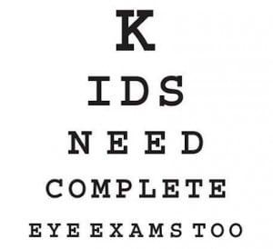 child eye exam 3